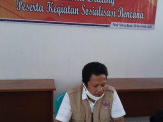 Plt. Kepala Bidang Pencegahan dan Kesiapsiagaan Fikri Budiman S.km