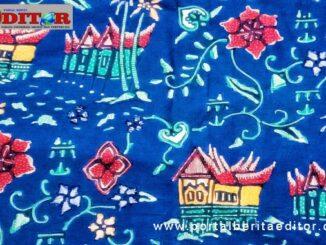 Batik Minang karya Zulmi Aryani.