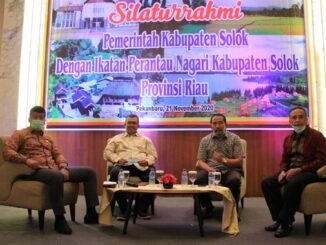 Dialog Pemkab Solok dengan PKKS Prov. Riau.