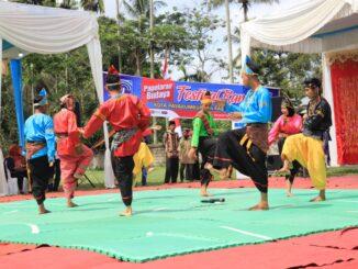 Festival Randai se Luak Limopuluah di lapangan sepakbola Talang Kecamatan Payakumbuh Barat