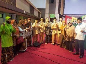 kafilah Payakumbuh yang mewakili Sumbar ke MTQ Nasional yang berhasil menyumbangkan satu emas dan satu perak