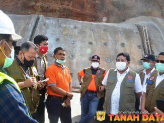 Kunjungan Deputi Rehabilitasi dan Rekonstruksi BNPB