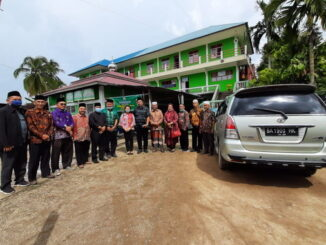 Kunjungan kafilah MTQ N Prov. Bali ke Kab. Solok.