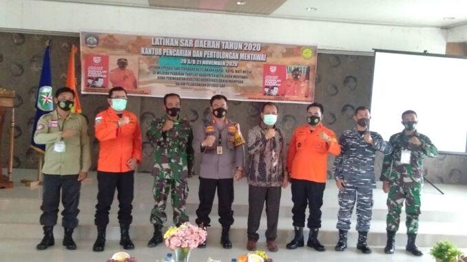 Latihan SAR Daerah di Mentawai