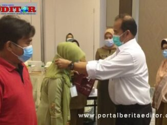 Pembukaan pelatihan peningkatan kompetensi pengelolaan homestay di Bukittinggi.