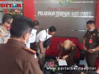 Penyerahan SPDP kasus pengeroyokan anggota TNI Kodim 0304 Agam oleh oknum club Moge dari Polres Bukittinggi ke Kajari Bukittinggi.