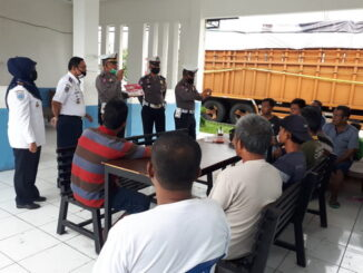 Satlantas Polresta Padang Lakukan Penyuluhan di UPT TAB Padang
