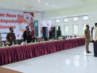 Peringatan hari pahlawan di Kabupaten Limapuluh Kota.