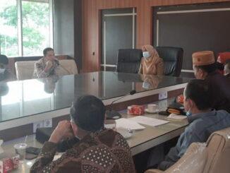 Pertemuan Pansus IV DPRD Kampar dengan Pemko Bukittinggi.