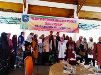 Peserta Pelatihan yang siap dibantu oleh Bank Nagari Cabang Sawahlunto.