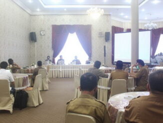 Rakor Monev MCP dan Verifikasi Lapangan Triwulan IV KPK Terhadap Pemkab Solok.