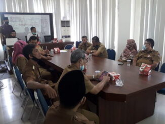 Rakor dan Sosialisasi Panwas Kecamatan Lubuk Begalung tentang Netralitas ASN di Lingkungan Kelurahan se-Kecamatan Lubuk Begalung.