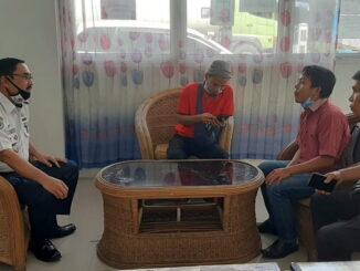 Kunjungan Tim Konsultan Kementrian Perhubungan Pusat di Terminal Koto Lalang.