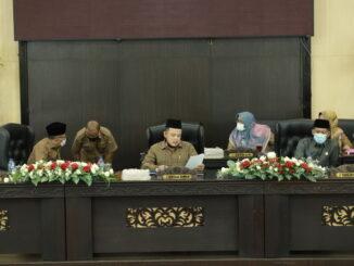 DPRD Kota Solok Gelar Sidang Paripurran Tentang Nota Keuangan RAPBD Tahun 2021