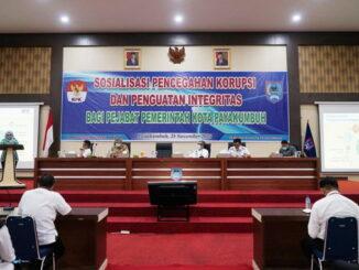 Wakil ketua KPK RI berikan sosialisasi pencegahan korupsi dan penguatan integritas kepada ASN di Payakumbuh.
