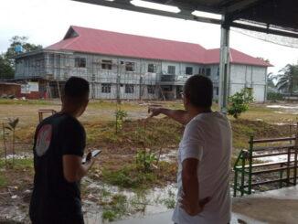 Wako tinjau pembangunan kantor bersama 4 SKPD di area pasar Padang Kaduduak.