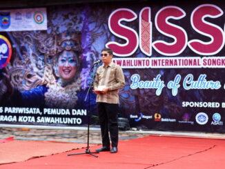 Walikota Sawahlunto membuka SISSCa 2020 di Gudang RansumWalikota Sawahlunto membuka SISSCa 2020 di Gudang Ransum.