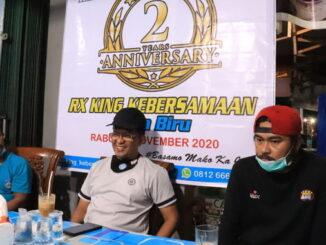 Wawako Payakumbuh Erwin Yunaz hadiri Anniversary club motor RX King kebersamaan kota biru.