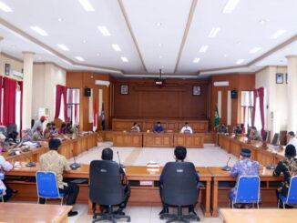 Sidang paripurna DPRD Kota Payakumbuh.
