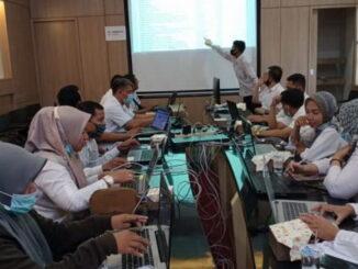 Bimtek e-SPPD yang digelar Diskominfo Kota Pariaman.