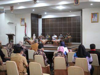 Diskusi persiapan Pilkada 2020 di Kab. Solok.