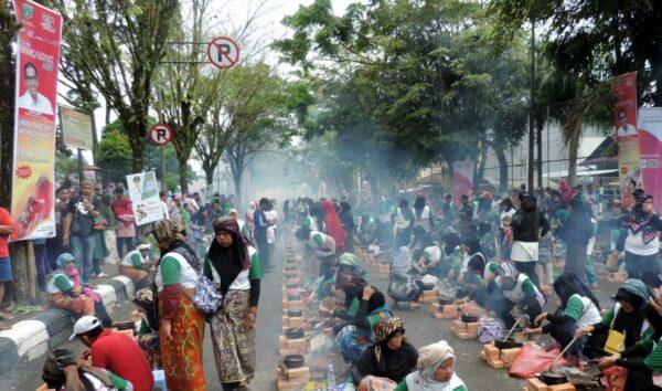 Festival cangkuak, salah satu iven yang bisa menarik wisatawan.