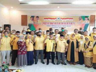 Foto bersama usai Musda ke X Partai Golkar Kab. Tanah Datar.