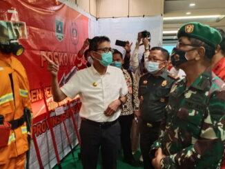 Gubernur Irwan Prayitno saat pelaksanaan rakor.