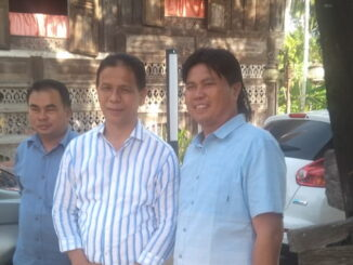 Indra Dt. Rajo Lelo saat berkunjung ke Solsel.