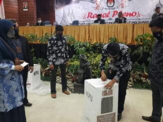 KPU Bukitinggi gelar rapat pleno rekapitulasi hasik penghitungan suara Pilkada Gubernur dan Wakil Gubernur Sumbar, serta Walikota dan Wakil Walikota Bukittinggi.