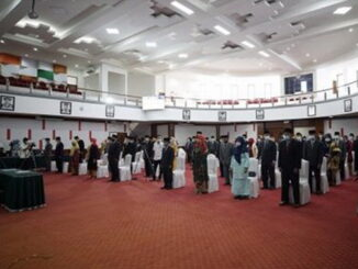 Pelantikan pejabat fungsional di jajaran Unand Padang.