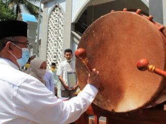 Peresmian alih fungsi mushalla Al-Hidayah menjadi masjid.
