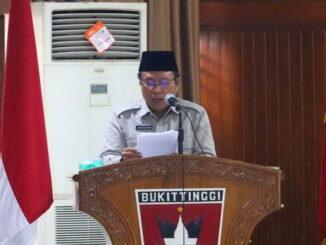 Pjs.Walikota Bukittinggi, Zaenuddin.