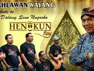 Poster lagu Pahlawan Wayang dari Heniikun Bay.