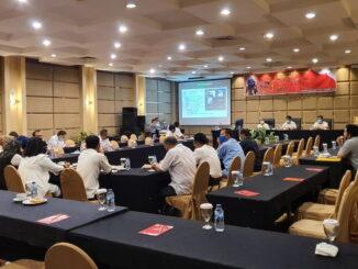 Rakor Persiapan Tour de Singkarak 2021 bersama Dinas Pariwisata Kab-Kota se-Sumatera Barat, Kab.Kerinci, Kota Sungai Penuh, dan Prov. Jambi.