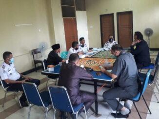 Saat hearing Komisi II DPRD Kota Padang dengan UPTD Parkir, dihadiri langsung Kepala Dinas Perhubungan Kota Padang.