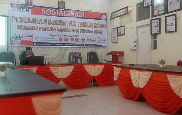 Sosialisasi KPU Limapuluh Kota.