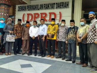 Kunjungan DPRD Kota Payakumbuh ke Bukittinggi.