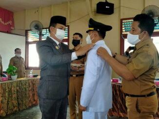 Pelantikan dan pengukuhan camat Sipora Selatan oleh Wakil Bupati kepulauan Mentawai.