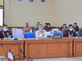 Pembahasan rencana pembangunan Payakumbuh convention hotel antara Pemko dan Komisi B DPRD Payakumbuh.