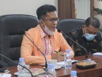 Rapat evaluasi penanganan covid 19 di Payakumbuh di pimpin Wawako Erwin Yunaz.