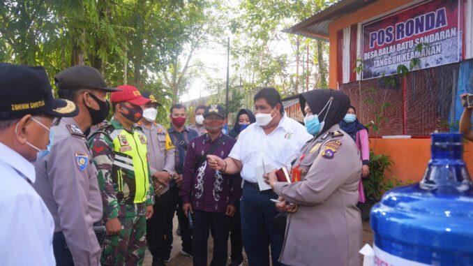 tim penilai lomba Kampung Tangguh Nusantara tingkat Provinsi Sumatera Barat