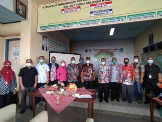 Foto bersama pada kegiatan HPSN di Jakarta Utara.