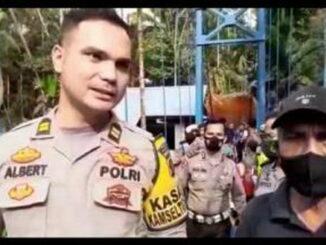 Kasat lantas Polres Pariaman Bakti Sosial Bersama Masyarakat Wilayah hukum Pariaman.