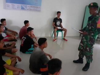 Kegiatan sosialisasi bagi calon pendaftar Secatam di Mentawai.