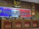 Ketua DPRD (Ermizen, S.Pd) memimpin Rapat Paripurna didampingi Wakil Ketua DPRD (Aprial Habbas) dan Plh Bupati Pesisir Selatan (Muskamal)