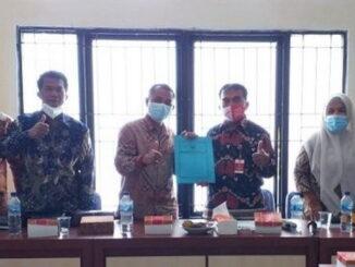 Kunjungan DPRD Kab. Kepulauan Mentawai ke Kota Pariaman.