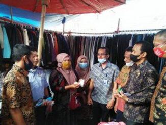 Launching progam e Retripusi Pasar di Tanah Datar.