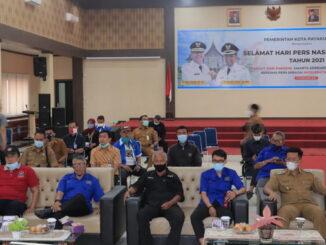 PWI dan Pemko Payakumbuh ikuti upacara puncak peringatan HPN secara virtual.