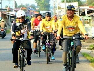Pemko Payakumbuh galakkan bersepeda ke kantor.